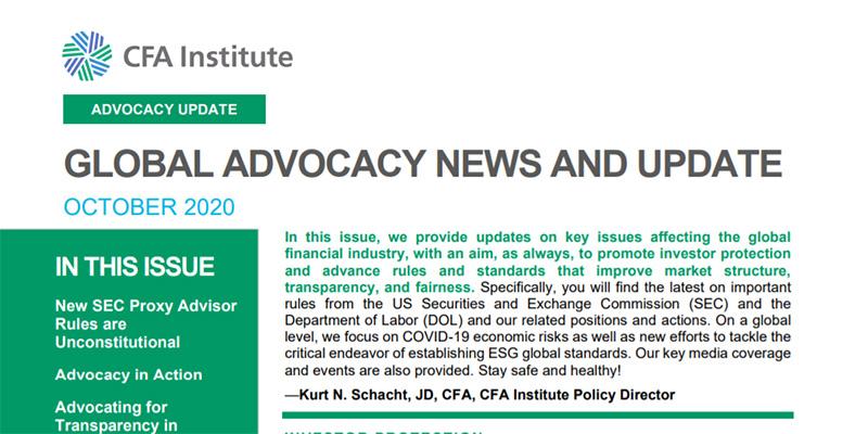 Insights Advocacy Update