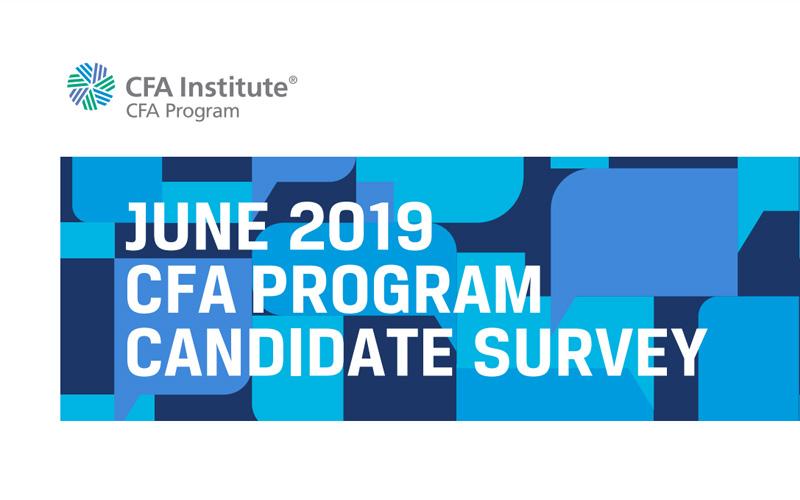 CFA Program Candidate Study Results